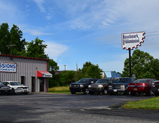 Picture of Certified Transmission shop location on 2112 West Broadway in Council Bluffs IA